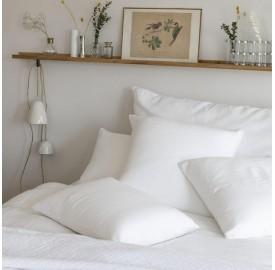 Mix and match de linge de lit couleur Blanc Optique