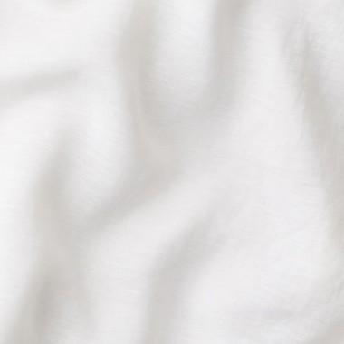 Paire de taies d'oreiller rectangulaires en lin lavé 50 x 70 cm Gris nuage