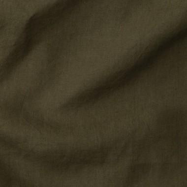 Paire de taies d'oreiller rectangulaires en lin lavé 50 x 70 cm Bleu paon