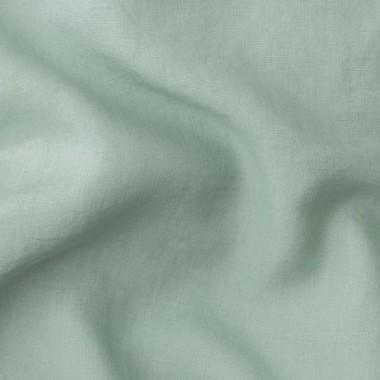 Paire de taies d'oreiller rectangulaires en lin lavé 50 x 70 cm Mint