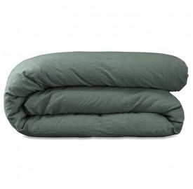 Linge de lit en lin lav vous voil dans de beaux draps de lin baralinge - Taies oreillers rectangulaires ...