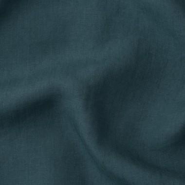 Paire de taies d'oreiller rectangulaires en lin lavé 50 x 70 cm Deep purple