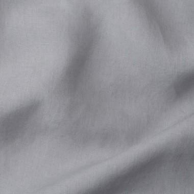 Paire de taies d'oreiller rectangulaires en lin lavé 50 x 70 cm Craie