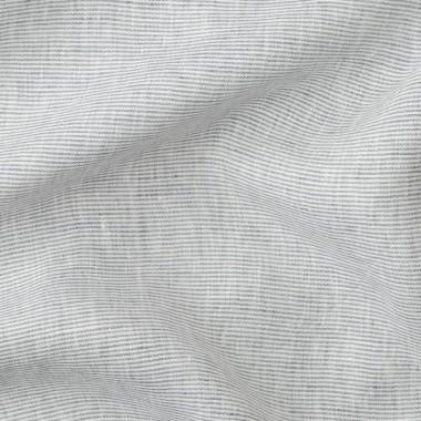 Tablier en lin lavé Blanc optique