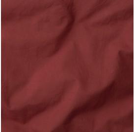 Housse de couette 1 place en lin lavé 140 x 200 cm - Gris béton