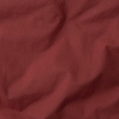 Housse de couette 1 place en lin lavé 140 x 200 cm Gris béton
