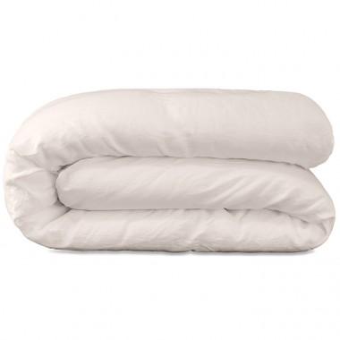 Parure en lin lavé uni pour lit bébé 60x120 cm ou 70x140 cm