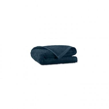 Serviette invité en éponge de coton bio Bleu Pétrole