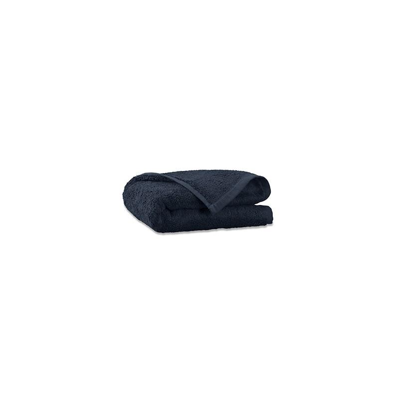 Serviette invité en éponge de coton bio Bleu Encre