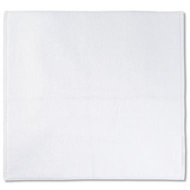 Tapis de bain en éponge de coton bio Blanc Optique