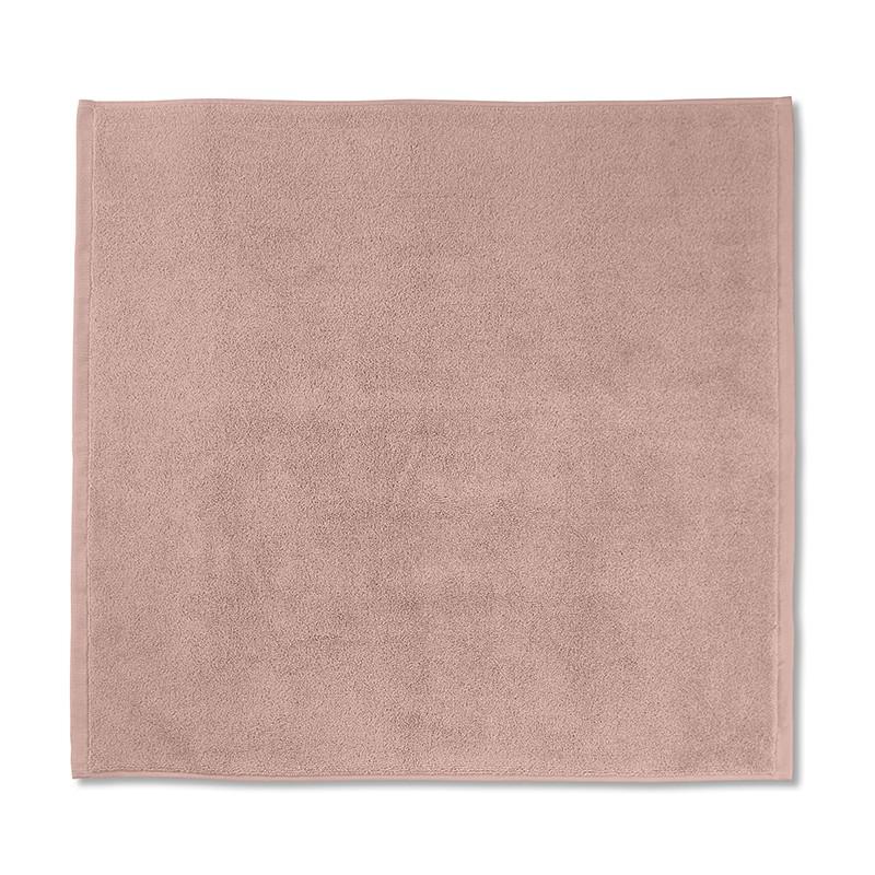 Tapis de bain en éponge de coton bio Rose Rétro