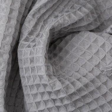 Nid d'abeille Gris Ciment