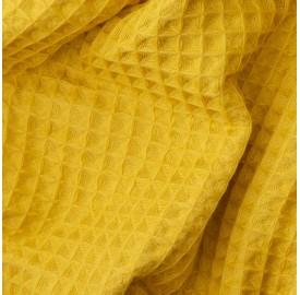 Nid d'abeille Jaune Safran