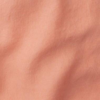 Lin lavé uni Rose Melba