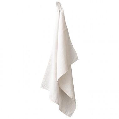 Torchon en lin lavé chambray Lin
