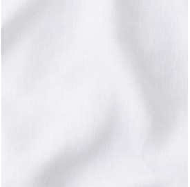 Lin lavé uni Blanc Optique